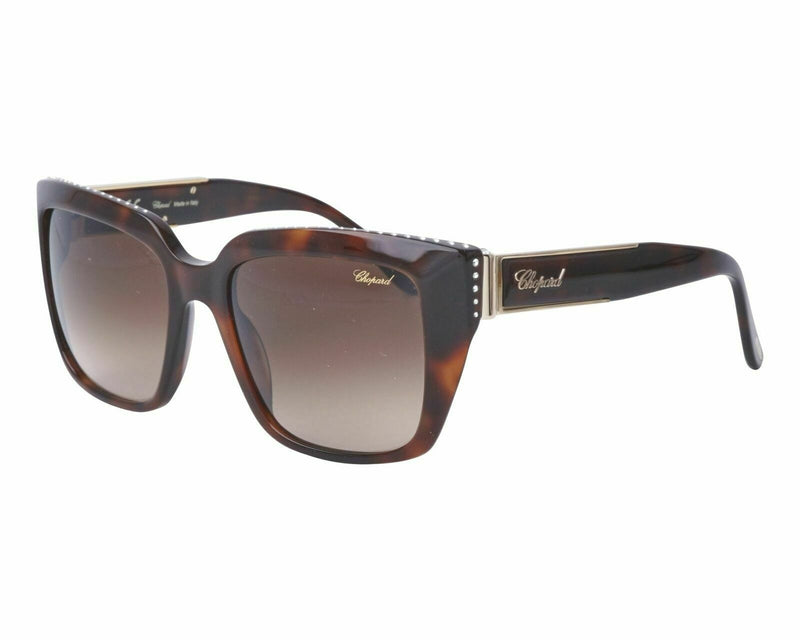 Chopard Sunglass - SCH190S 09XK 53 Square Style - Brown Gradient Lens