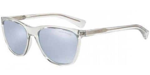 Emporio Armani Men Sunglasses EA4053 5371/6J Clear Frame Gray Lens