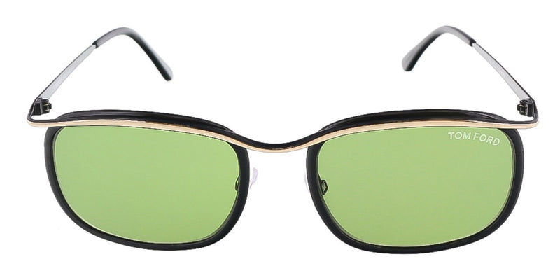 Tom Ford Sunglass - Rectangular Shape Green Lens - FT0419S 05N 53MM