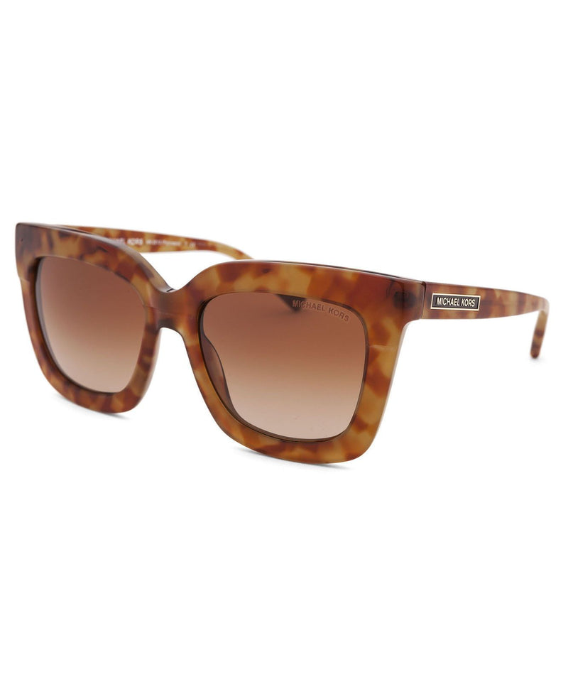 Michael Kors Sunglass - MK2013 308013 Oversize Style Brown Color Sunglass