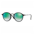 Ray-Ban Sunglass - Round Style Shiny Black Color Men Sunglass RB2447F 901/4J 52