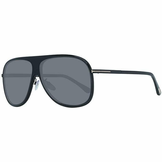 Tom Ford Sunglasses CHRIS FT0462F/S 01D 62 Black Frame Grey Lens