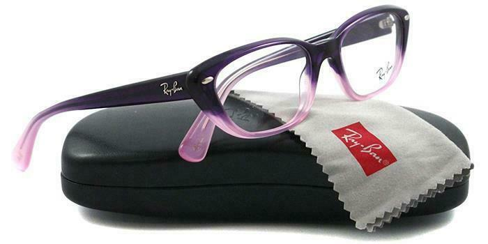 Ray-Ban Eyeglass - Violet Faded Cat Eye Style Eyeglass  RB5242-5071
