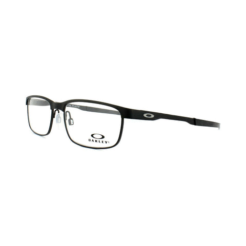 Oakley Glasses Frames Steel Plate OX3222-0154 Powder Coal Optical Frame