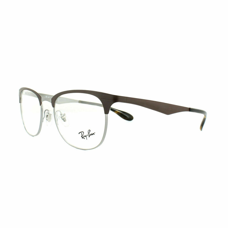 Ray-Ban Glasses Frames RX 6346 2912 Gunmetal Matte Brown Mens Womens 50mm
