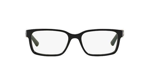 Bvlgari Eyeglass -  square Style Black Frame with Demo Lens - BV3023 5309