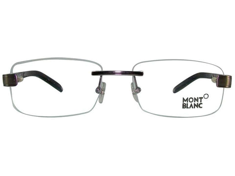 New Authentic Mont Blanc MB305 048 56MM Eyeglasses Brown MB0305 Frame
