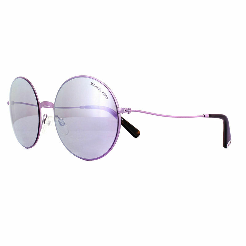 New Michael Kors MK5017 113825 55MM Purple Glitter Sunglasses