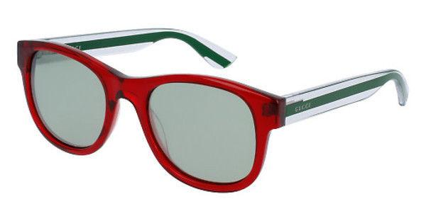 Gucci Sunglasses Square Style Silver Mirrored Lens