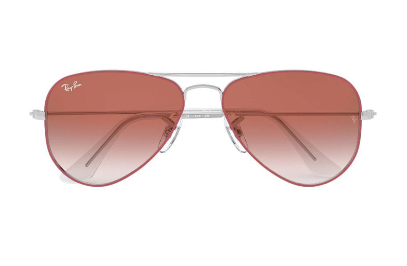 Ray Ban JR Sunglasses RJ9506S 274/V0 50 Silver On Top Red 50MM