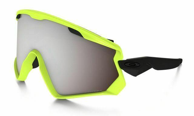 Oakley Wind Jacket 2.0 OO7072-06 Neon Retina/Prizm Snow Black Iridium Sunglasses