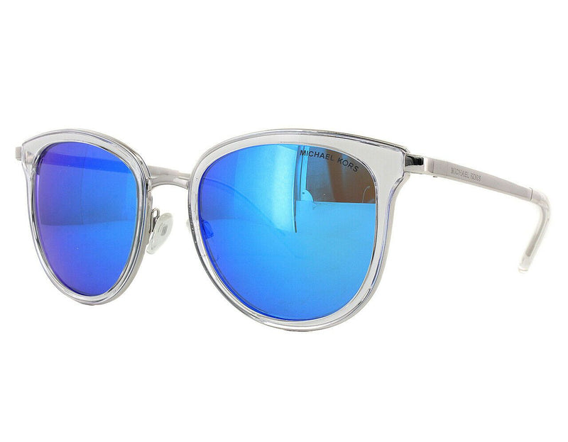 Michael Kors Sunglass - MK1010 110525 Square Style Crystal / Blue Color Sunglass