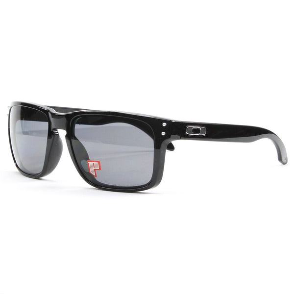Oakley Sunglasses Wayfarer Square Style Grey Polarized Lens