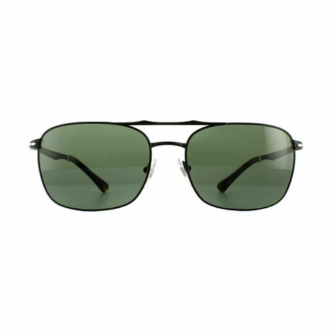 Persol Sunglasses PO2454S 107831 60 Demi Gloss Black Green