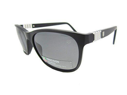 TAG Heuer Sunglasses Legend Square Style Grey Polarized Lens