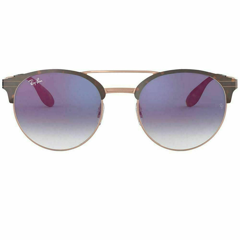 Ray-Ban Sunglass Round Style Copper Havana Color - RB3545 9074X0 54mm