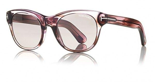 Tom Ford Sunglass Round style Purple Gradient- FT0532 83Z