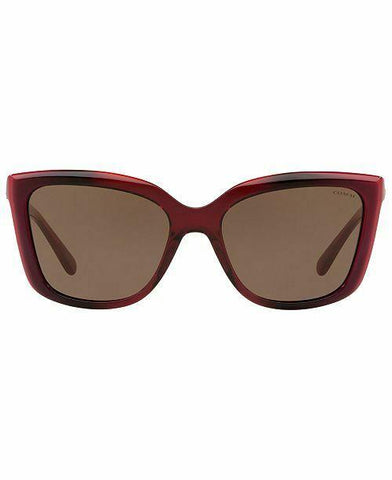 Coach Sunglasses HC8261 553273 56 Berry Laminate Gray Lens