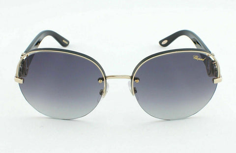 Chopard SCH B67S SCHB67S 0301 59 Sunglasses - Shiny Rose Gold / Grey Gradient