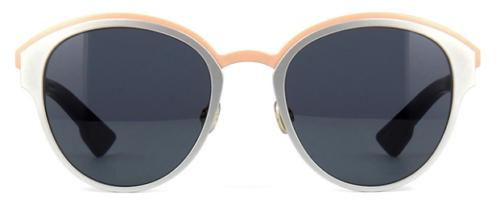 Christian Dior Sunglasses Round Style Dark Grey Gradient Lens