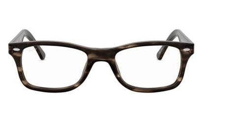 Ray Ban Eyeglasses RX5228F 5798 53 Havana Green Eyeglasses Frames Optical