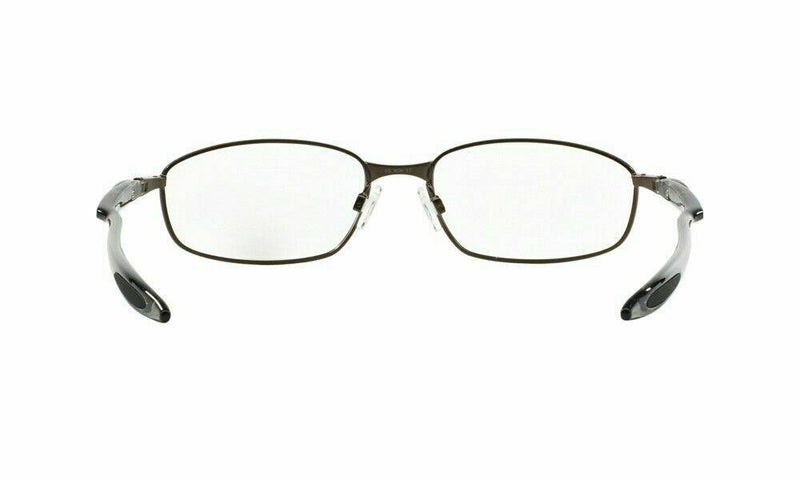 Oakley Eyeglass - Square Style Pewter Frame with Demo Lens - blender 6b ox3162-0155