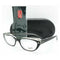 Ray-Ban Eyeglass - Transparent Black Cat Eye Style Eyeglass - RB5242-2034