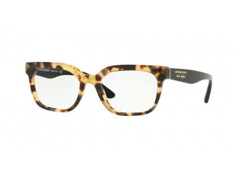 Burberry RX frame BE2277 3741 51mm Black Tortoise 2277 Vintage London Cateye