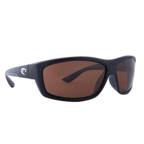 Costa Del Mar - BLACKFIN Matte Gray Rectangular Women's Sunglasses - 65 mm