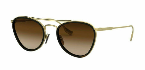 Burberry COMET BE3104 114513 51  Pale Gold/Brown Shaded (1145/13) Sunglasses