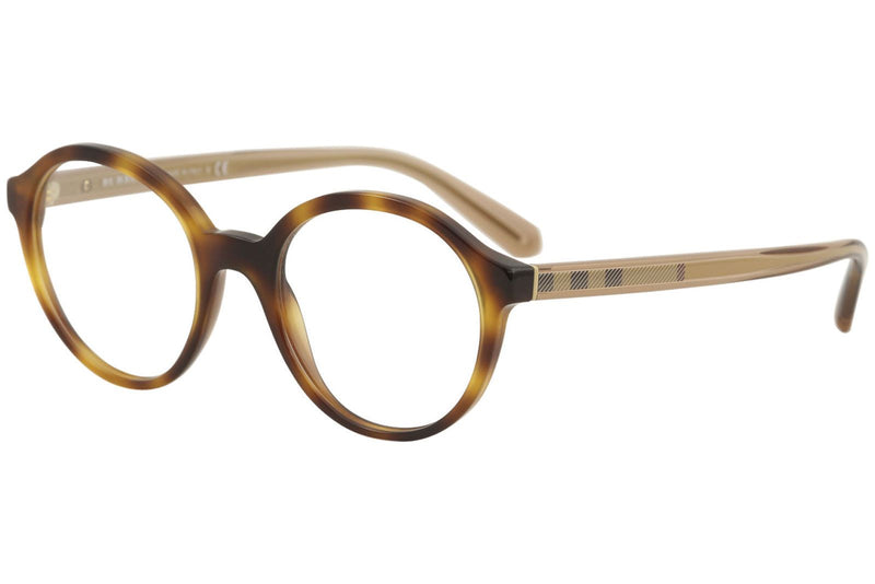 Burberry Women's Eyeglasses BE2254 BE/2254 3316 Light Havana Optical Frame 49mm