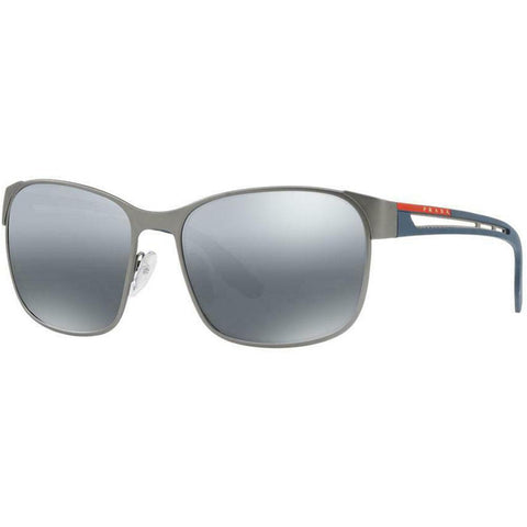 Prada Linea Rossa CORE PS52TS DG12F2 59  grey silver mirror polarized Sunglasses