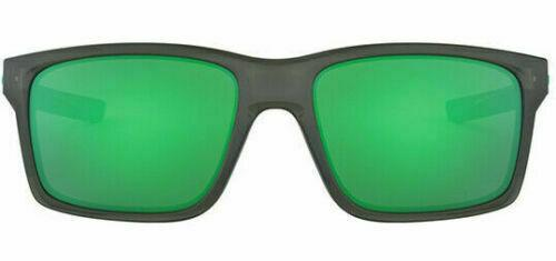 Oakley Mainlink Sunglasses Grey Smoke W/ Jade Iridium OO9264 0457