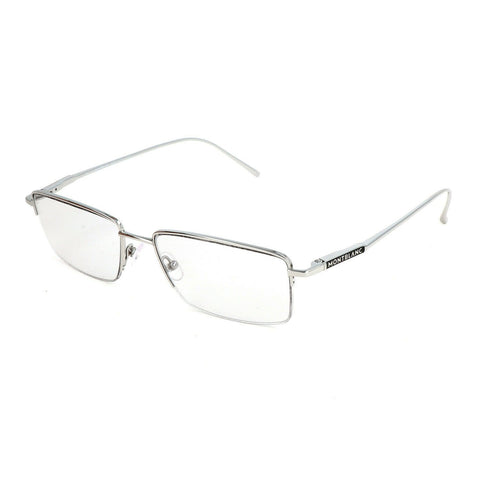 Mont Blanc Eyewear MB677S-O/S 16A 54 GEOMETRIC Titanium Optical Frmaes