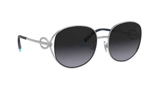 Tiffany & Co. Sunglasses TF3065 60013C 56 Sunglasses Silver /Grey Grad 56mm