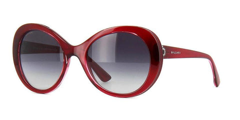 New Genuine Bvlgari BV8159BQ 10018G 55mm Women's Sunglasses Red Fast Ship