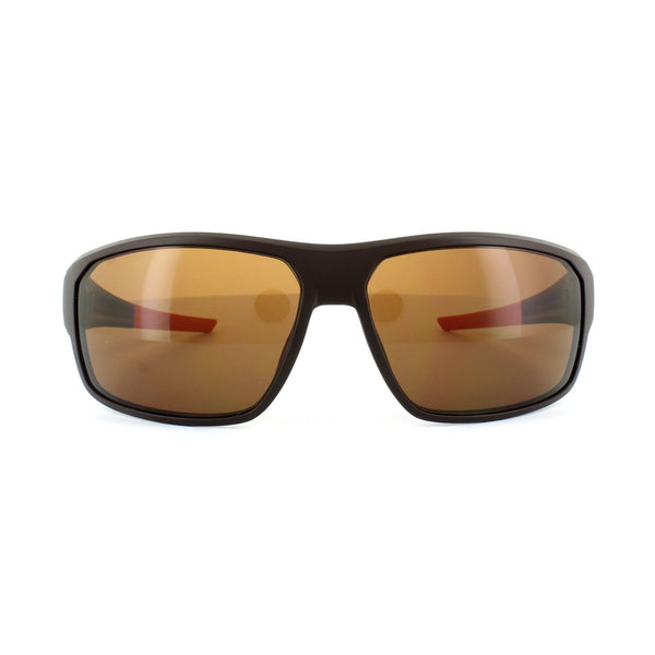 TAG Heuer Sunglasses Rectangular Style Brown Outdoor Lens