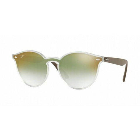 Ray Ban Round Style Sunglasses W/Green Gradient Lens