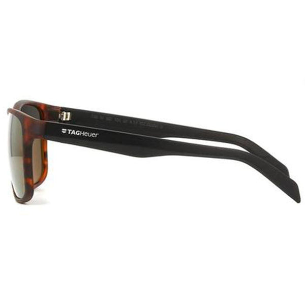 Tag Heuer Sunglasses Wrap Style Grey Mirrored Lens