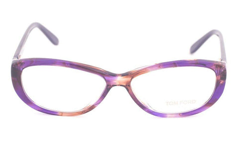 Tom Ford TF5226 083 Purple Tortoise Eyeglasses TF5226 083 54mm