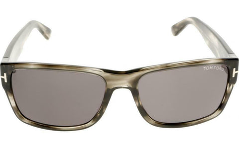 Tom Ford Sunglasses Grey Havana Smoke Gradient Sunglasses FT0445/S 20A 58