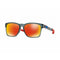 Oakley Sunglass Catalyst Square Style Crystal Black Color Prizm Ruby Lens - OO9272-2855