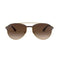 Ray-Ban Sunglass Pilot Brown Lens - Men's Sunglass Matte Havana Frame RB3606 912713 59