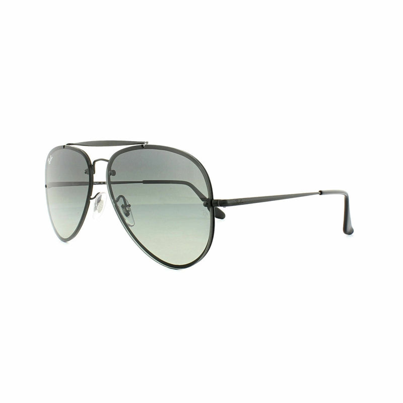 Ray Ban Sunglasses Blaze Aviator RB3584N 153/11 Black Grey Gradient 60mm