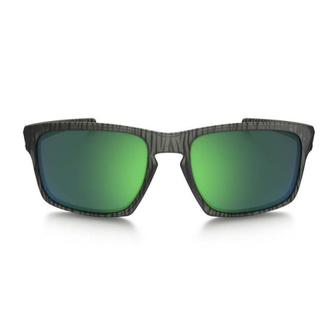 Oakley Sunglasses Sliver Asia Fit Square Style Jade Iridium Mirrored Lens