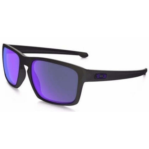 Oakley Sunglasses Sliver Square Style Violet Iridium Polarized Lens