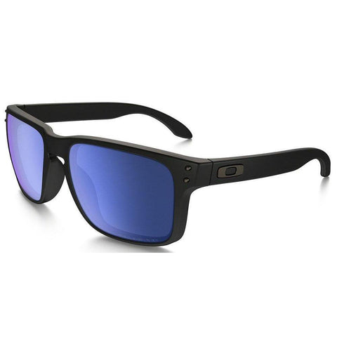 Oakley Sunglasses Square Style Ice Iridium Polarized Lens