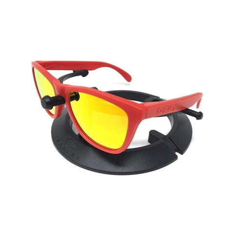 Oakley Sunglasses Frogskins Sports Style Fire Iridium Mirrored Lens