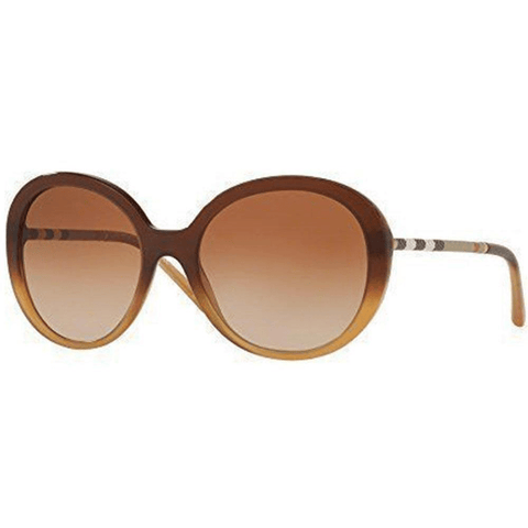 Burberry Sunglasses Women Butterfly Style Brown Lens
