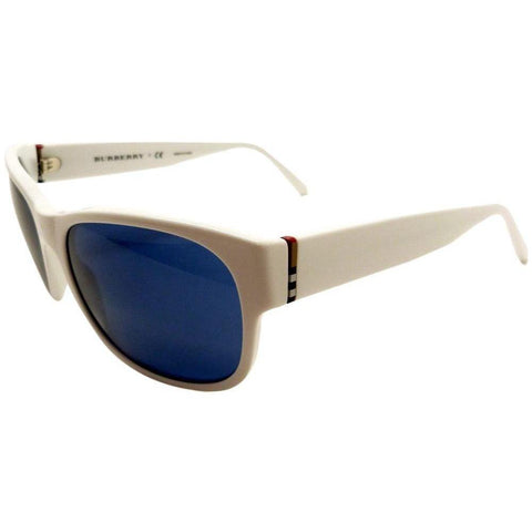 Burberry Sunglasses Unisex Square Frame with Blue Lens